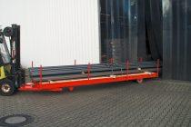 Targonca villára húzható hosszúáru szállító 5000 kg teherbírással