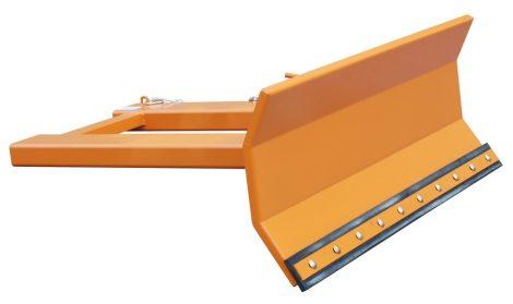 Targoncavillára erősíthető hótoló adapter 1500-1800 mm széles lapáttal