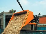 Targoncavillára húzható hidraulikus rakodókanál 1-1.5 tonna teherbírással