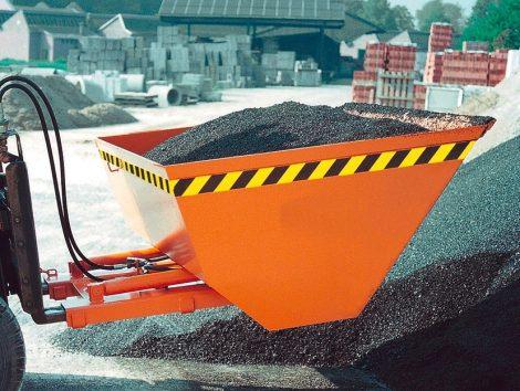 Targoncavillára húzható hidraulikus rakodókanál 1.6-2.5 tonna teherbírással